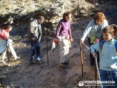 Cañón del Río Dulce y Sigüenza; viajes senderismo españa; senderismo fin de semana